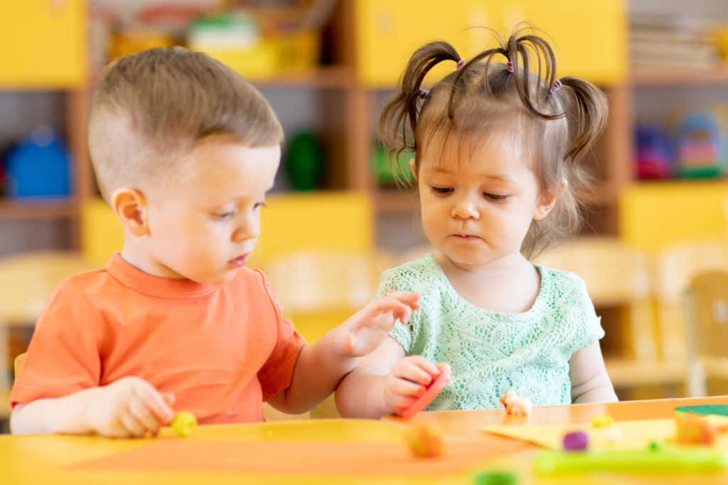 Learning To Share, Be Kind, And Collaborate - Toddler Preschool & Daycare Serving Milton, Harrington, Dover & Camden, DE