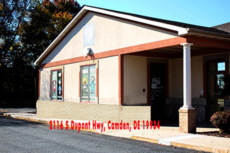 Camden Delaware location of Shells Child Care