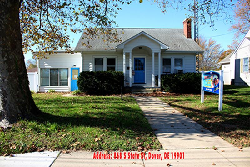 Dover Delaware location of Shells Child Care