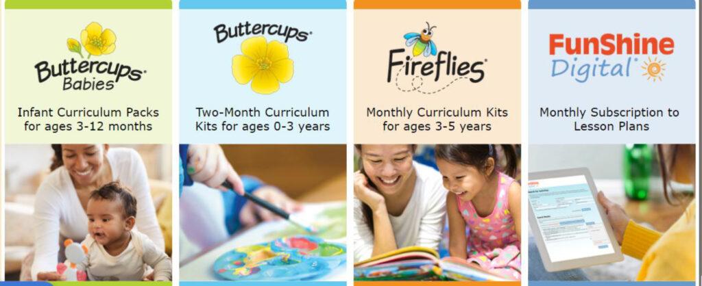 Shells Child Care Cirriculum