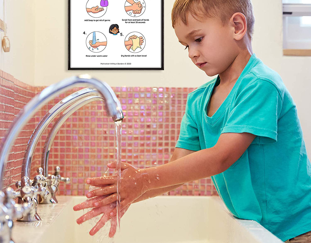 Handwashing is important at Shells Child Care