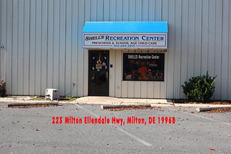 Milton Delaware location of Shells Child Care